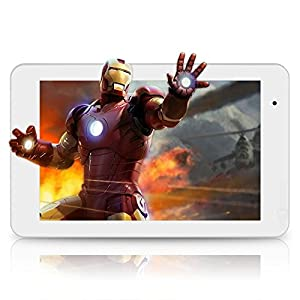 Orbo Extreme 3D Tablet for 3D Games, Videos, Apps and more (No Glasses Needed) - 7 inch 8GB 5 Point Multi Touch Screen with Android and Bonus 8GB SD Card - White (Introductory Pricing) by Chromo Inc