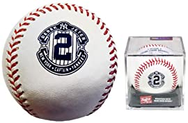 Derek Jeter Official Retirement Baseball With Acrylic Display Cube by Rawlings