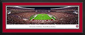 Alabama Crimson Tide - Bryant-Denny Stadium - End Zone - Framed Panoramic Photo by Laminated Visuals