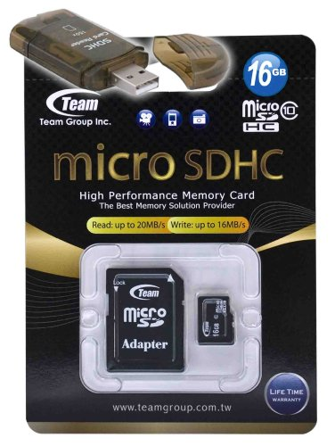 16GB Class 10 MicroSDHC Team High Speed 20MB/Sec Memory Card. Blazing Fast Card For Samsung A817 Solstice II A927 Flight II. A free High Speed USB Adapter is included. Comes with Lifetime Warranty.