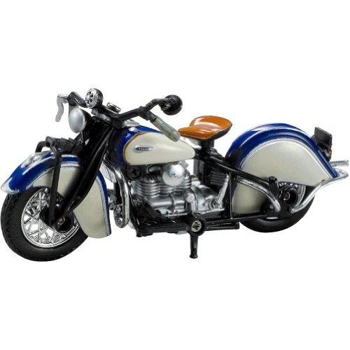 New Ray 1939 Indian Four Replica Motorcycle Toy - 1:32 Scale