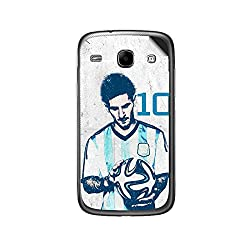 ezyPRNT Samsung Galaxy Core i8262 Lionel Messi 'Messiah' Football Player mobile skin sticker