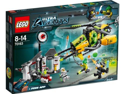 Lego Agents 70163 - Toxikitas Angriff auf das Labor