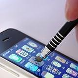 プロテック 静電式&感圧式 マルチタッチペン PRO ブラック PTP-PBK 【iPad/XPERIA(SO-01B)/iPhone 3G・3GS・4/iPod touchシリーズ/DS Lite・DSi・SiLL/各種PDA/E-BOOK/PMP/docomo/au/softbank各種携帯電話対応】