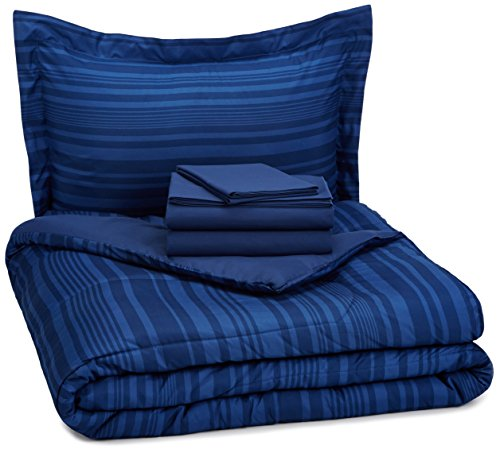 amazonbasics-5-piece-bed-in-a-bag-twin-twin-extra-long-blue-calvin-stripe