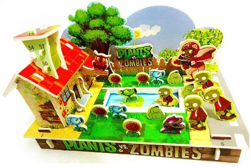 3D DIY TOY Jigsaw Puzzle enriches the child's imagination kids like it. Toys & Games Best Sellers Releases Preschool Toys Boys' Toys Girls' Toys Games & Puzzles Hobby (Plants vs. zombies 2) from Advance