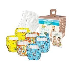 Bumkins Diaper Bundle 6-Pack