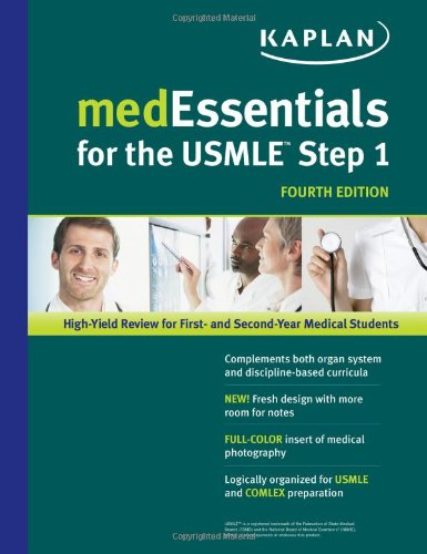 Medessentials For The Usmle Step 1 (Usmle Prep) front-1056793