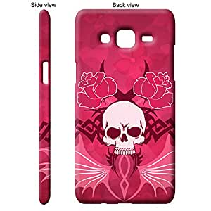 TGK™ Abstract Art Scary Skull Tattoo 33rd Design Back Cover Case for Samsung Galaxy J5 - Multicolor