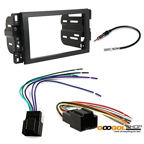 CAR STEREO DASH INSTALL MOUNTING KIT WIRE HARNESS RADIO ANTENNA BUICK CHEVROLET GMC HUMMER SATURN PONTIAC SAZUKI (Chevy Wire Harness For Car Stereo compare prices)