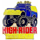 High Rider Monster Truck Pin 1""