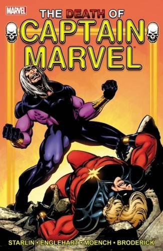 Captain Marvel Death Of Captain Marvel