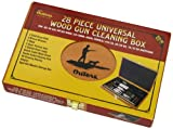 Outers 28 - Piece Universal Wood Gun Cleaning Box (.22 Caliber and up)