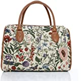 ladies travel bag/weekend duffle bag/gym bag/cabin approved hand luggage Morning Garden Design