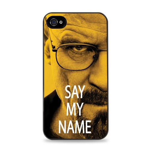 698 Walter White Say My Name Apple Iphone 5 Silicone Case - Black front-607902