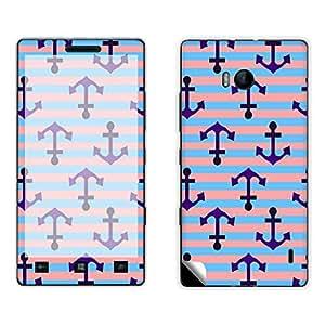 Skintice Designer Mobile Skin Sticker for Nokia Lumia 930, Design - Anchors
