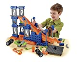 51WOfoDGhpL. SL160  Fisher Price TRIO Hot Wheels Stunt Ramp Builder