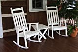 Outdoor POLY Classic Porch Rocker - Amish Made USA -Bright White- ONE ROCKER ONLY!!!