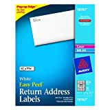 Avery Return Address Labels for Laser and Inkjet Printers, 0.5 x 1.75 Inches, Pack of 800 (18167)