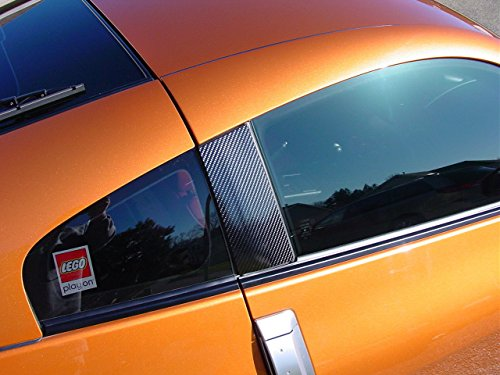 JDM CARBON FIBER DOOR PILLAR COVER FOR 2003-2008 NISSAN 350Z (Nissan 350z Nismo Intake compare prices)