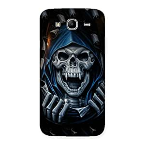 Blue Hood Ghost Back Case Cover for Galaxy Mega 5.8