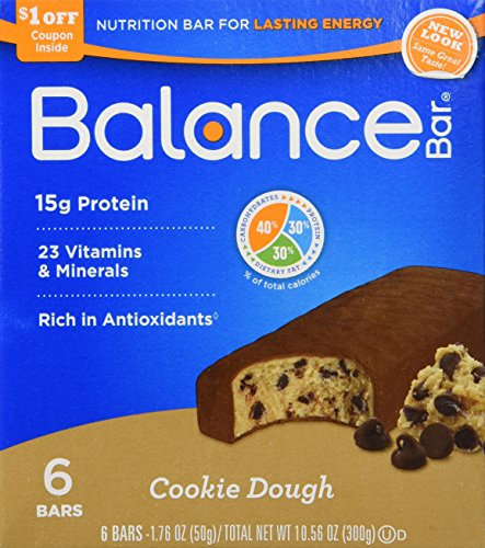 Balance - Nutrition Energy Bar Original Cookie Dough - 6 Bars [Pack of 2] (Balance Energy Bars compare prices)