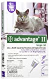 Advantage Flea Control Purple: For cats over 9 lbs. 4 Month