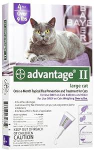 Advantage Flea: Cats over 9 lbs : 4 Month
