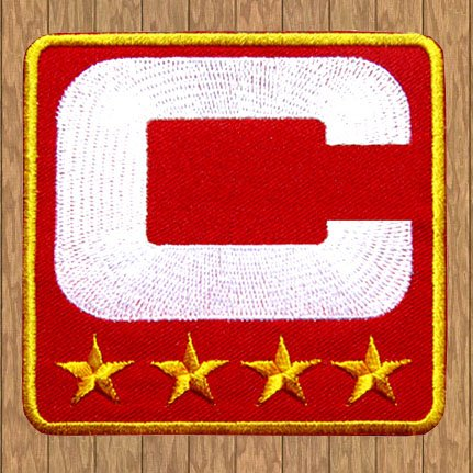San Francisco 49ers Football Captain C 4 Stars Jersey Patch at Amazon.com