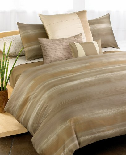 Calvin Klein Home ''Brushstroke'' Duvet Cover, Queen