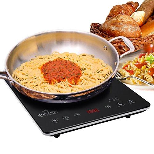 Duxtop Ultrathin Portable Sensor Touch Induction Cooktop Countertop Burner