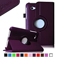 Fintie (Purple) 360 Degrees Rotating Stand Case Cover For Samsung Galaxy Tab 2 7.0 Inch Tablet -- Multiple Color...