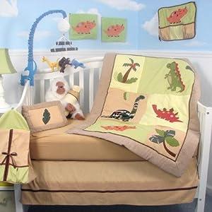 13 Piece Dinosaur Story Baby Crib Nursery Bedding Set