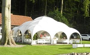 ZELT DESIGN WILLIAM 9x6m weiss für Garten, Event und Terrasse Aktion: Versandkostenfrei!