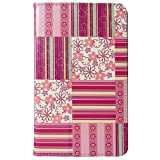 CaseGuru HP Slate 7 Pretty Purple Wallpaper Printed Pattern Premium Luxury Multi Function Standby Slim Case Cover