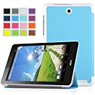 IVSO Acer Iconia One 8 B1-810 Ultra Lightweight Slim Smart Case-will only fit Acer Iconia One 8 B1-810 Tablet (Blue)