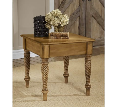 Cheap Antique White Wilshire End Table (B000RHT0X4)