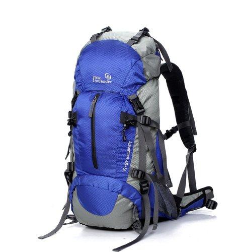 50L旅行用バックパック 軽量 防水 登山用リュック ザック アウトドアリュック、防災