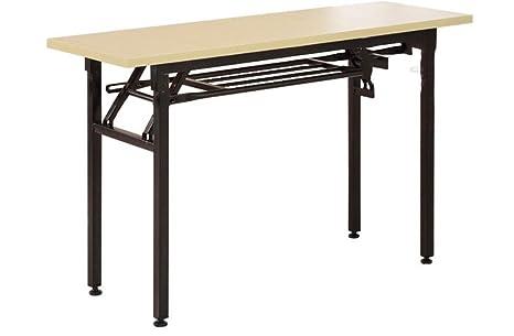 MONEYY Home computer desk _ fácil mesas plegables de ADG capacitación desk home exposición exterior tabla 1.2*0.4*0.75,B bar