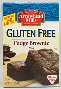 Arrowhead Mills Brownie Mix, Wheat Free, Gluten-Free OG3 17.5 oz. (Pack of 6) by Unknown