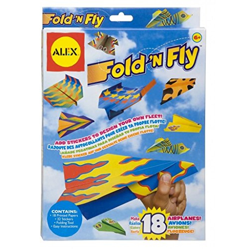 Fold N Fly Paper Airplanes Kit (Model Airplane Supplies compare prices)