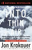 Image of Into Thin Air: A Personal Account of the Mount Everest Disaster   [INTO THIN ...