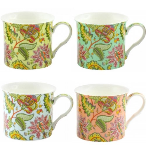 set-of-4-coffee-tea-mugs-cups-kitchen-china-patterns-eastern-cup-gift-box-new