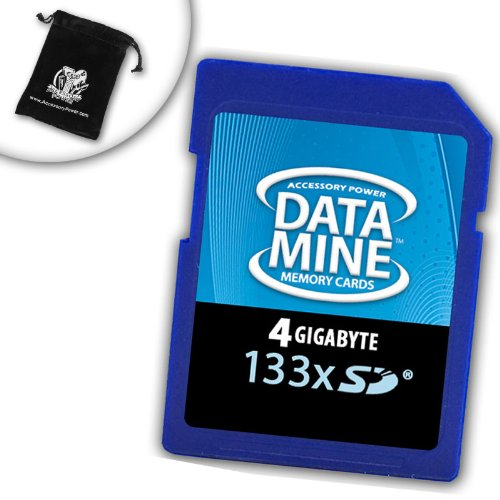 BLAZING 133x Speed 4GB Secure Digital SD Memory Card for AMAZON KINDLE 1 by Accessory Power the Fast & Reliable Memory Solution *