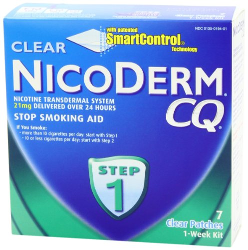 the steps to take in order to stop smoking Nicoderm cq is a stop-smoking aid that helps prevent the urge to smoke all day long  nicoderm ® cq ® comes in 3 steps, each with a different dosage of nicotine.