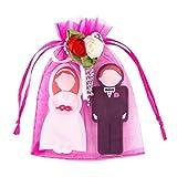 Enfain Wedding Gifts USB Flash Drive 8GB - A Groom Design 8GB & A Bride Design 8GB