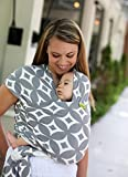 Boba Wrap - Stardust - The Elastic Baby Sling - Baby Carrier / Backpack --- The Ideal Baby Carrier With A Special Sense Of Closeness And Security