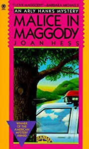 "Cover of ""Malice in Maggody (An Arly Hank..."