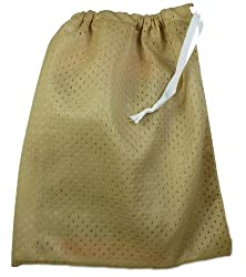 Water Wrap Mesh Bag - GOLDEN SAND with *BONUS* Tooth Tissues