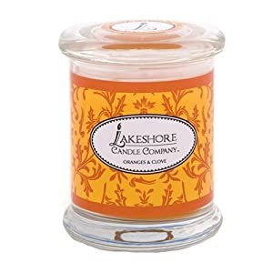 Lakeshore Candle Company Tumbler Candle, 10-Ounce, Oranges and Clove